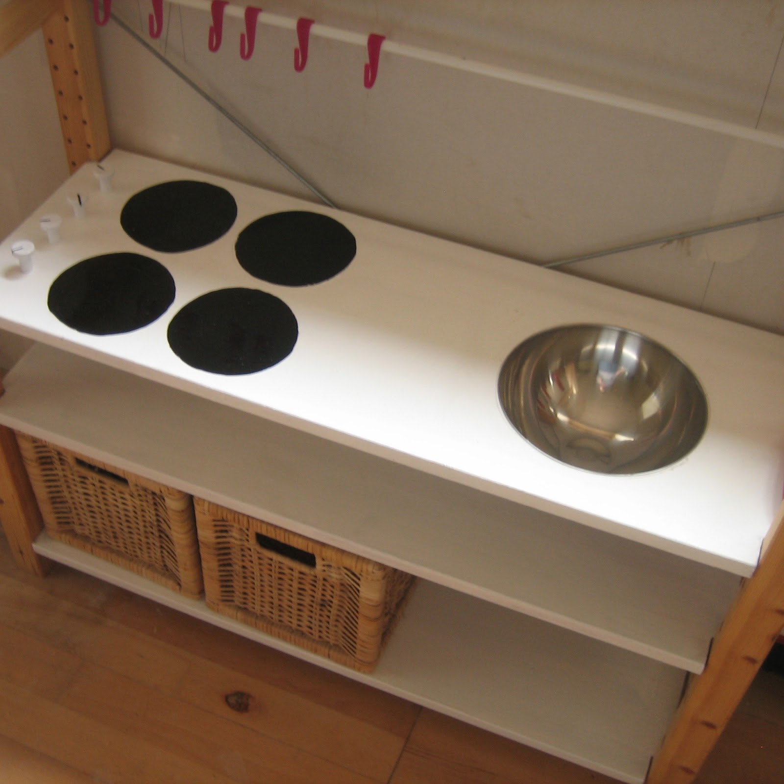 Our Handmade Home: How to make a Play Kitchen - Ikea Toy Kitchen
