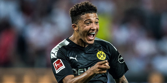 It was revealed, Arsenal had tried to bring Jadon Sancho