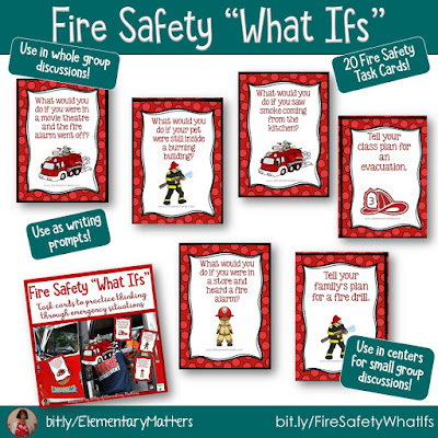 https://www.teacherspayteachers.com/Product/Fire-Safety-What-ifs-159688?utm_source=October%20Blog%20Post&utm_campaign=Fire%20What%20Ifs