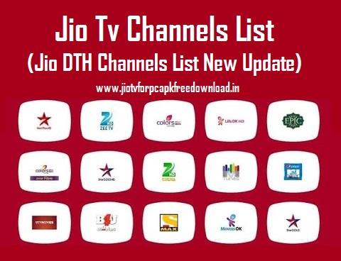 Jio Tv Channel List 2019