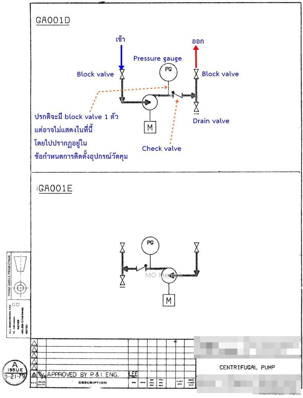 Centrifugal Pump Mechanical Seal Diagram Orbit Fan Wiring Mo Memoir : Memoirs Of Metal Oxide Catalyst Research Group: Piping And Instrumentation ...