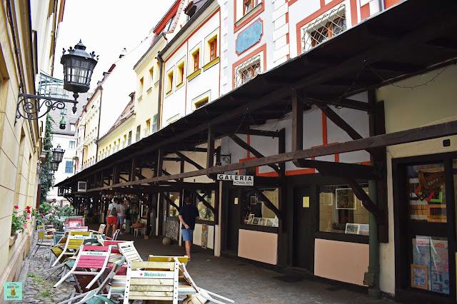 Callejón de los Carniceros en Wroclaw, Polonia