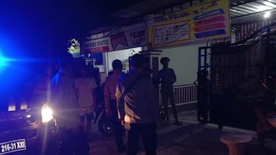 Polsek Pringgabaya Bubarkan Kumpulan Pemuda Balap Lari di Jalan Raya