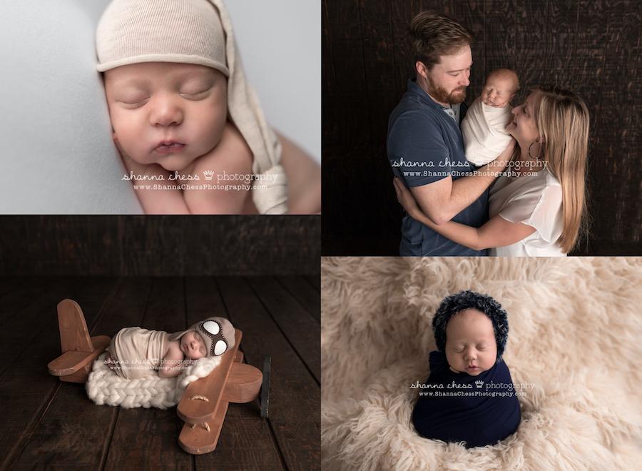 eugene oregon studio newborn photography