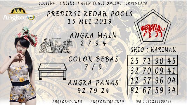 PREDIKSI KEDAH POOLS 15 MEI 2019