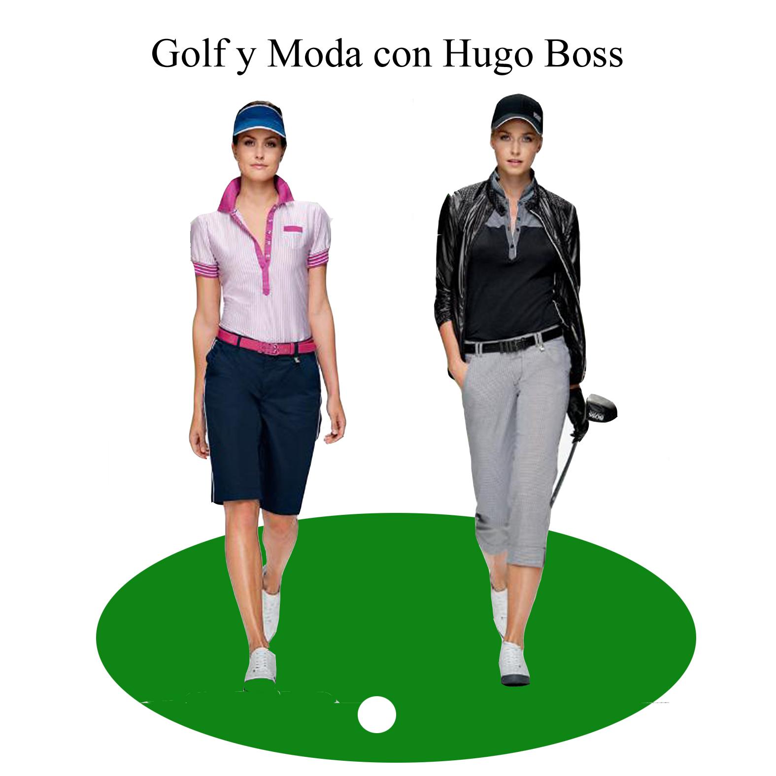 Golf Y Moda Hugo Boss Green Ropa Para Jugar Al Golf