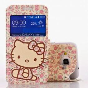 promo code 17aff f734e Cool Gadgets: Samsung Galaxy Core Prime Hello Kitty Flip Cover Case