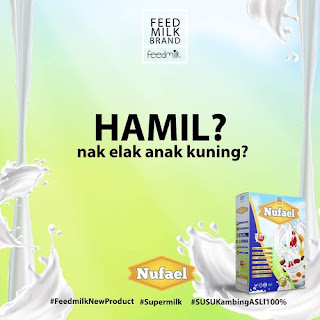 Susu Kambing Nufael Kurangkan Masalah Bayi Kuning