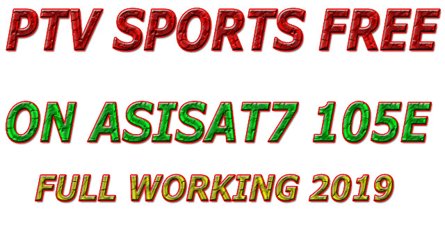 PTV SPORTS FREE TO AIR ON ASIASAT 7 105.5E NEW UPDATE