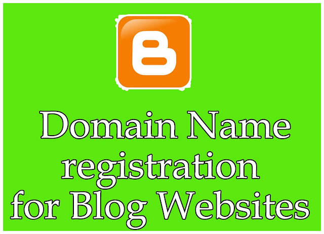 Domain Name registration for Blog Websites