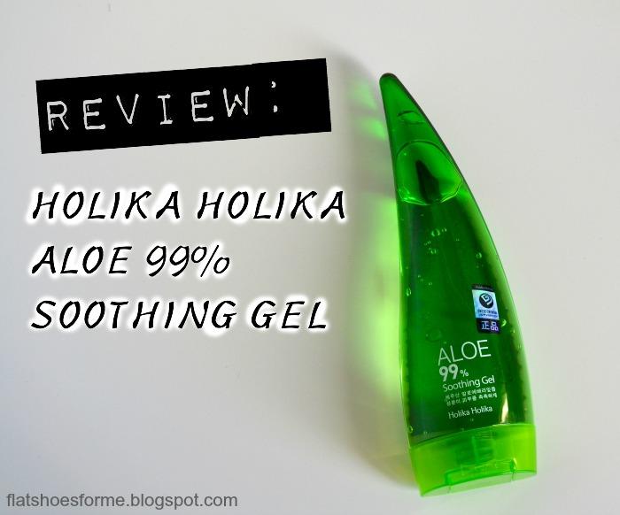 Review Holika Holika Aloe 99% Soothing Gel  Flat Shoes
