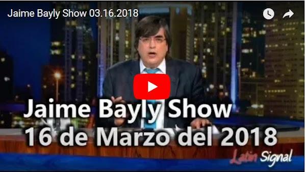 Jaime Bayly comenta el anuncio de Andrés Pastrana sobre nacionalidad de Maduro