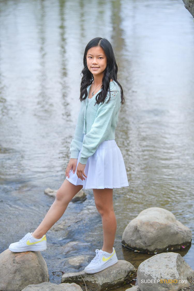 Birthday Portraits for Teenage Girl in Outdoor Nature SudeepStudio.com Ann Arbor Family Portrait Photographer