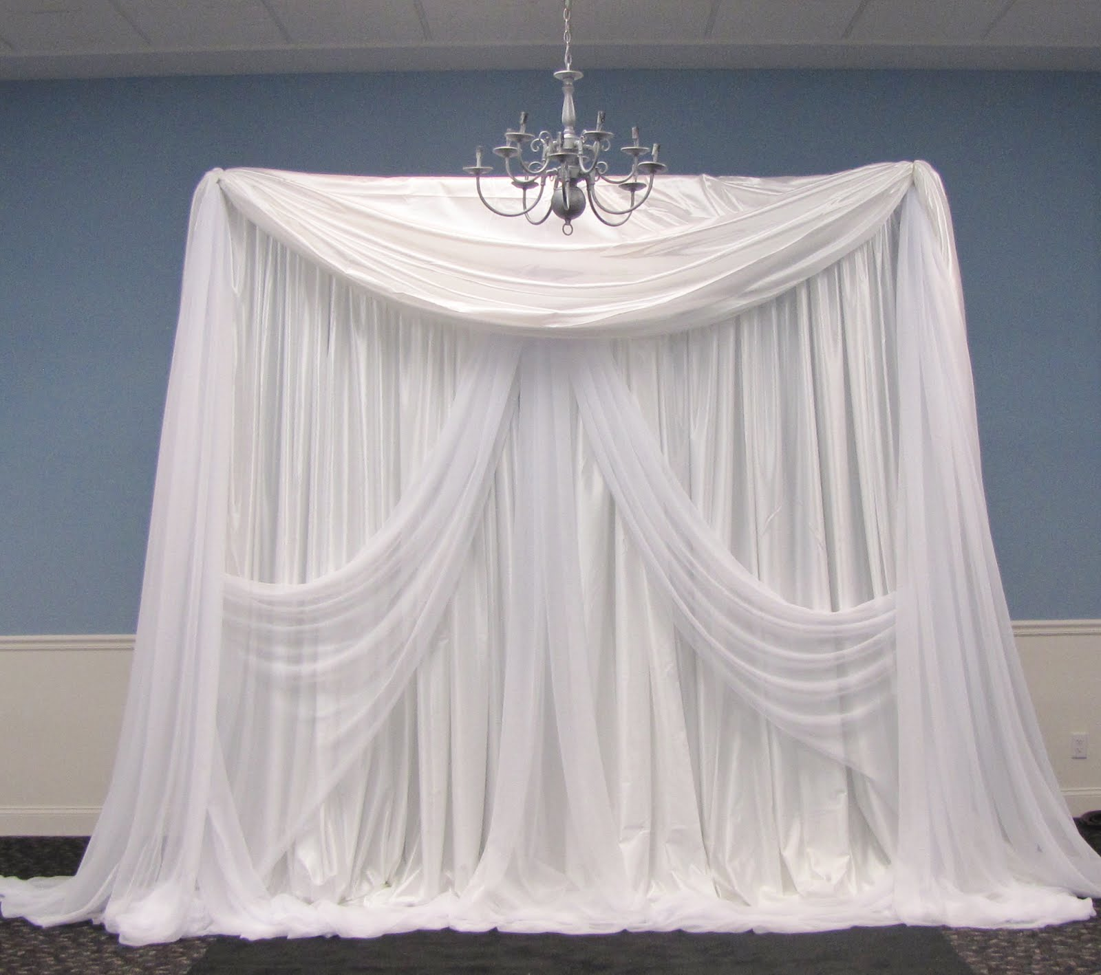 Party People Event Decorating Company Elegant Wedding Ceremony Backdrop