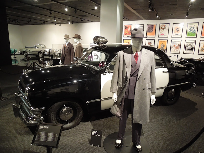 Gangster Squad movie exhibit Petersen Auto Museum