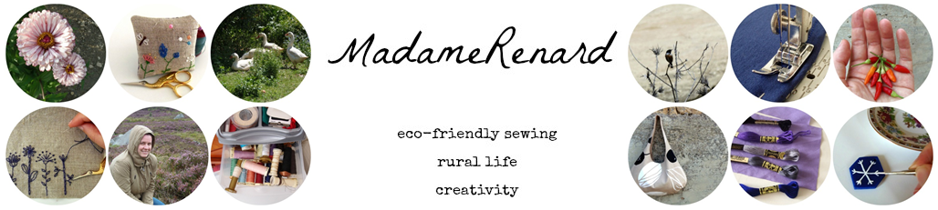 MadameRenard ... a self-expression journey! Eco-friendly sewing, rural life, creativity!