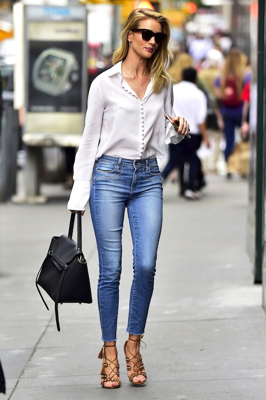 Rosie Huntington-Whiteley Style | Outfit
