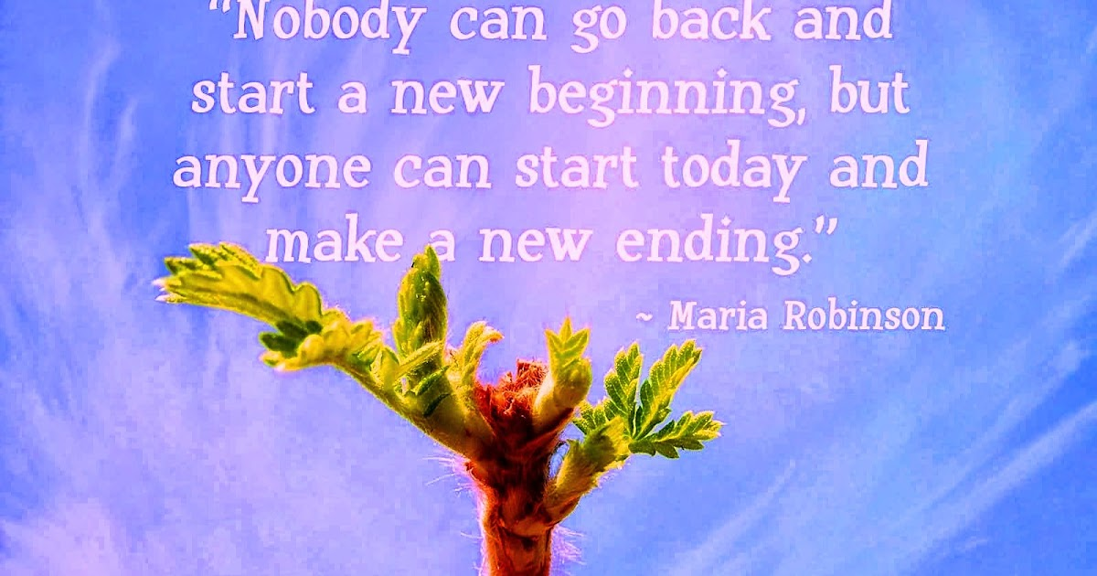 Today New Body Go Start Start New Beginning Can No Anyone Back And Can Make And