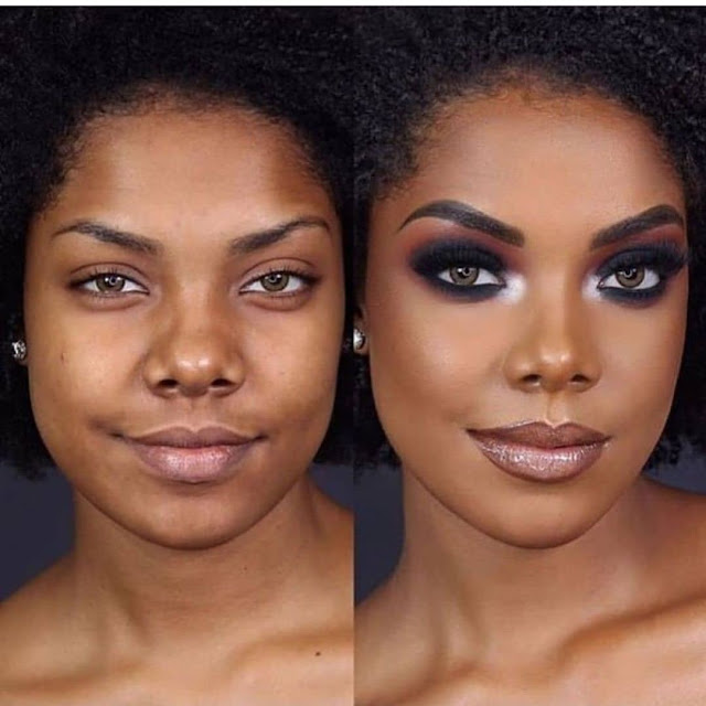 2019 Very Beautiful and Trendy Makeup Styles for Black Women