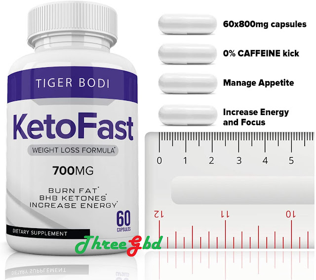 Manufacturer's Claims of Ketofast 700 mg
