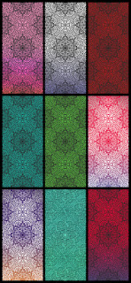 luxu iphone mandala gradient pattern cool wallpapers
