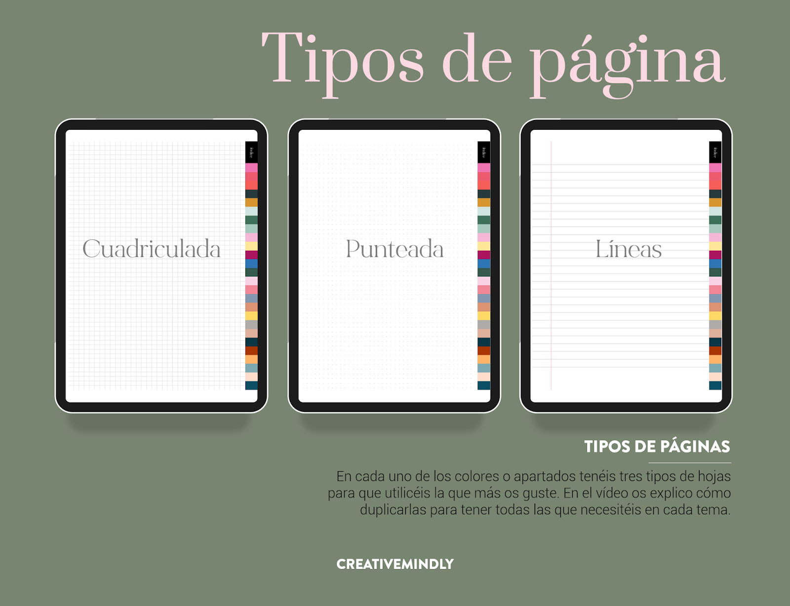 cuaderno notas digital ipad android