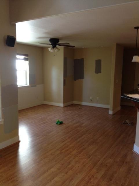 Wall Color In Open Floor Plans on Open Concept Floor Plans Kitchen Living Room