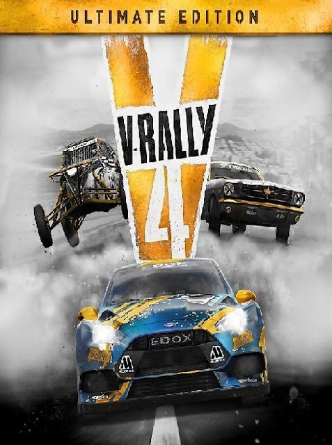 تحميل لعبهV-Rally 4 Ultimate Edition v 1.01All DLCs 2018 للكمبيوتر  برابط واحد مباشر