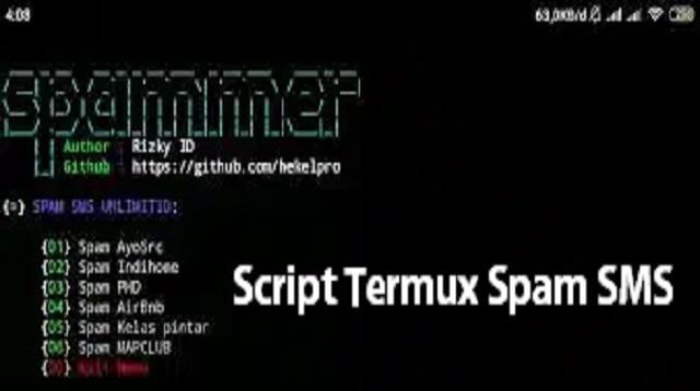 Script Termux Spam SMS