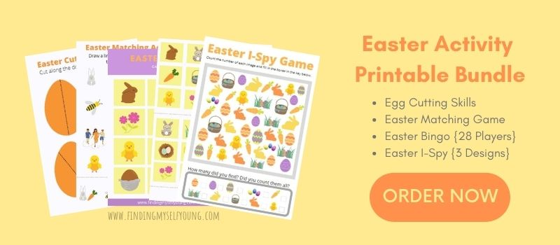 easter activity printable bundle by Finding Myself Young