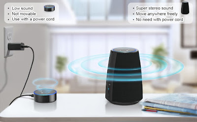 MOKCAO Power + for Echo Dot
