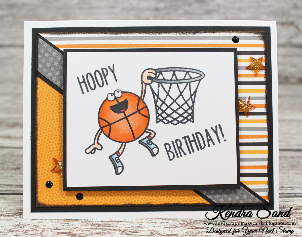 Днем рождения, открытка баскетбол с днем рождения
