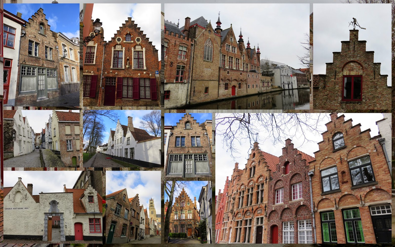 15 Reasons to Visit Bruges For Christmas: Bruges Architecture
