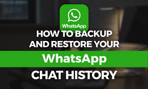 WhatsApp Chat history recover