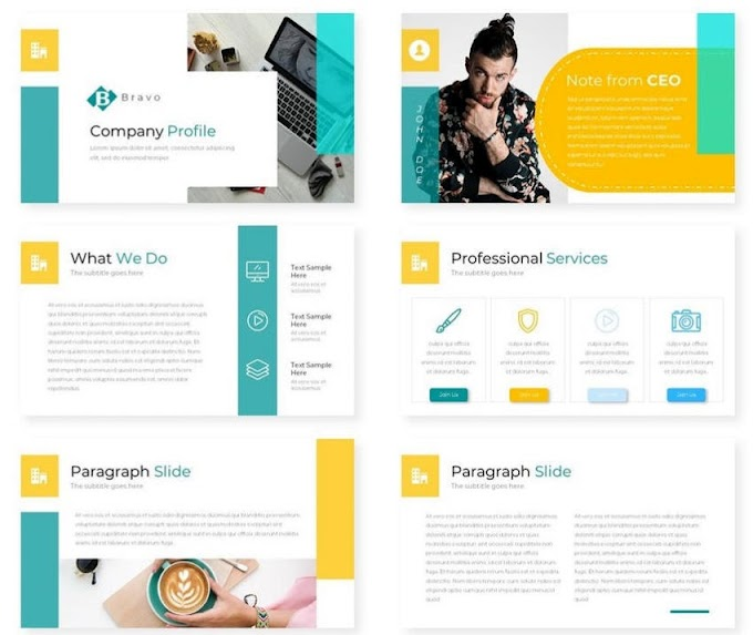 Bravo - A great PowerPoint Template