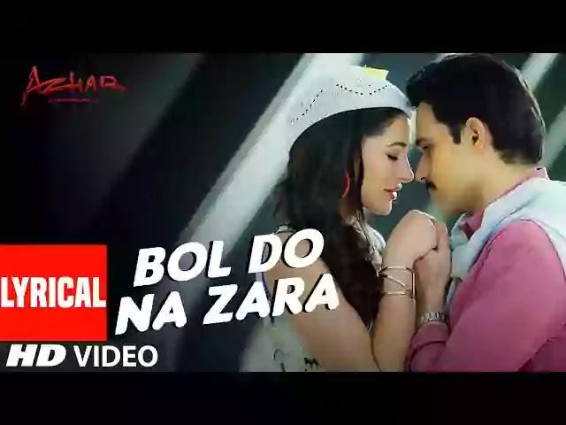 Bol Do Na Zara Lyrics – Armaan Malik
