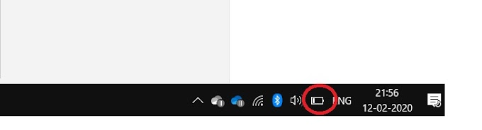 How to enable your battery icon if hide in your laptop and computer, window 10