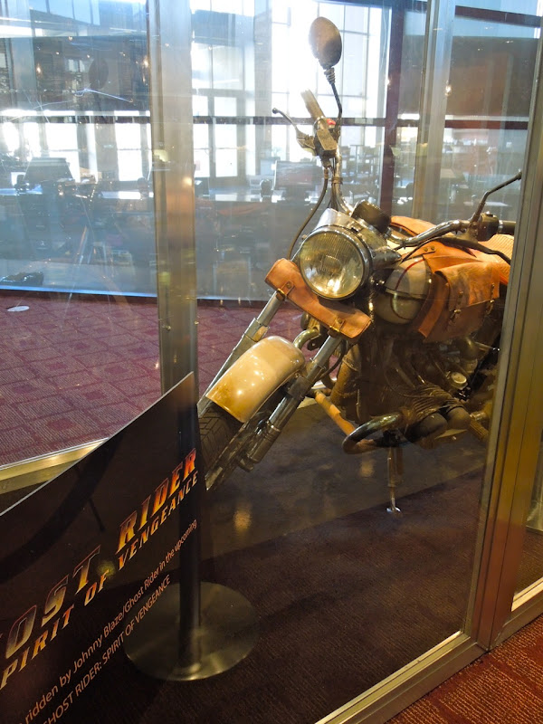 Ghost Rider 2 motorcycle