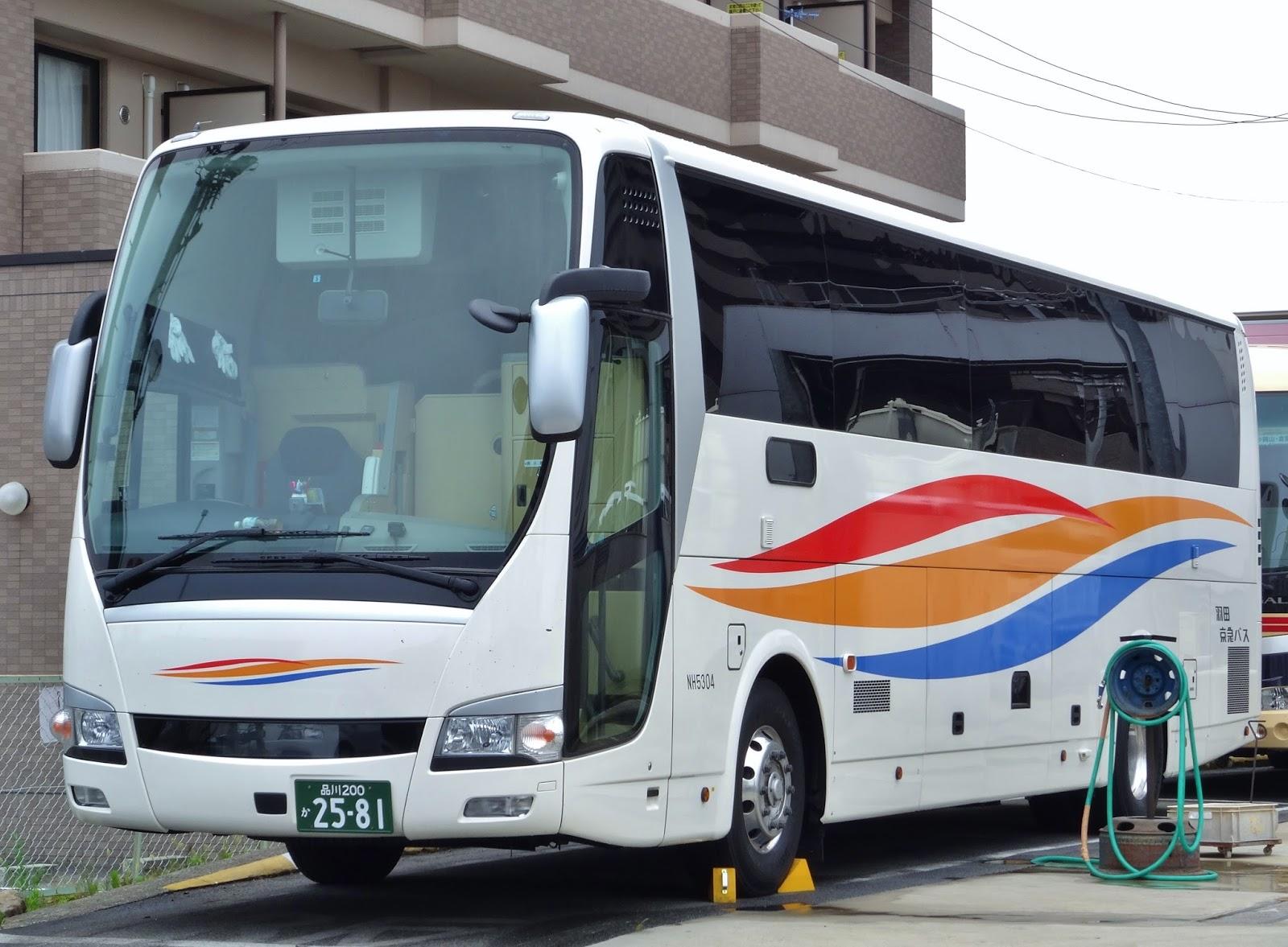 広島のバス: 羽田京急バス 品川2...