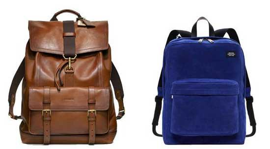 Model tas kerja Backpack