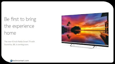 Nokia Smart TV 43-Inch Model Is Set To Launch Today In India: Check Expected Price, Specifications & More Here