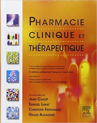 Télécharger Livre Gratuit Pharmacie Clinique et Thérapeutique pdf
