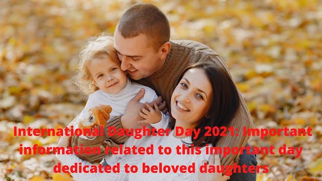 International Daughter's Day 2021