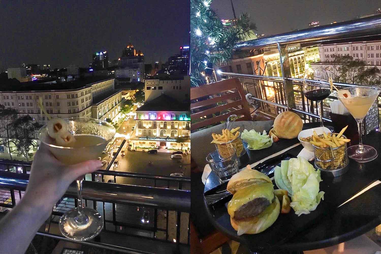 caravelle saigon rooftop bar ho chi minh city vietnam