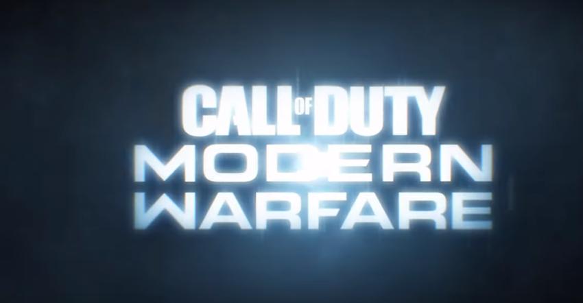 Activision ha annunciato con un trailer pubblicato oggi Call of Duty: Modern Warfare