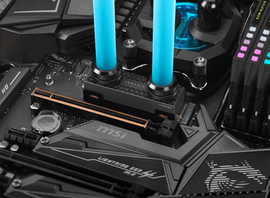 Su soğutmalı radyatör Corsair MP600 PRO XT