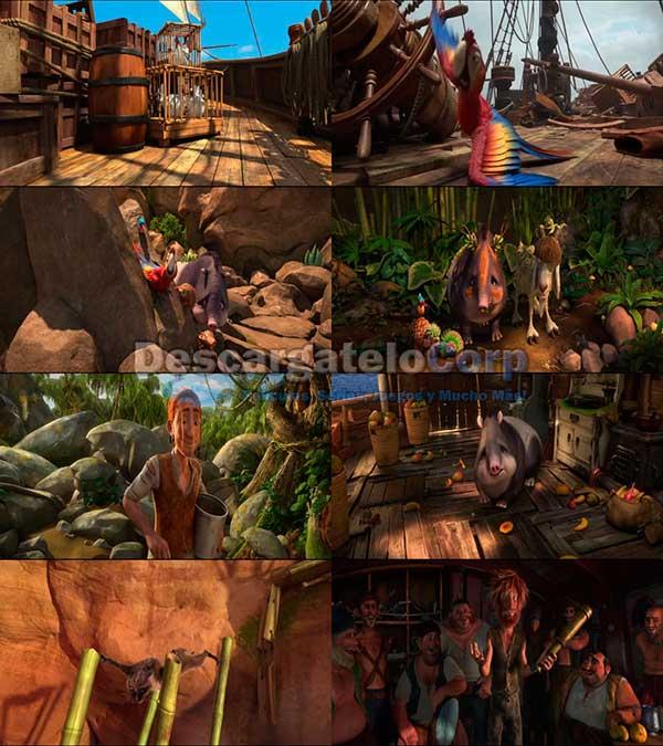 Las Locuras de Robinson Crusoe DVDRip Español Latino