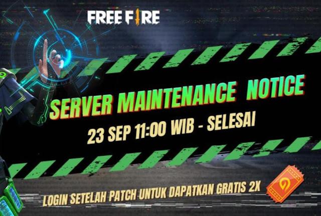FF Maintenance 23 September 2020