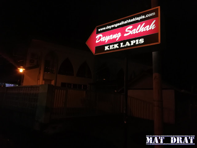 Kek Lapis Dayang Salah Sarawak di Kuching Sedap