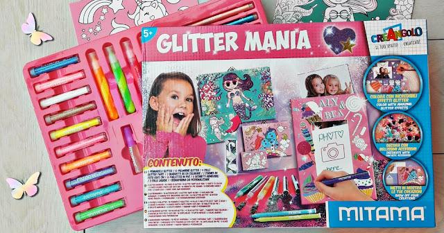 Glitter Mania di Mitama linea Creangolo